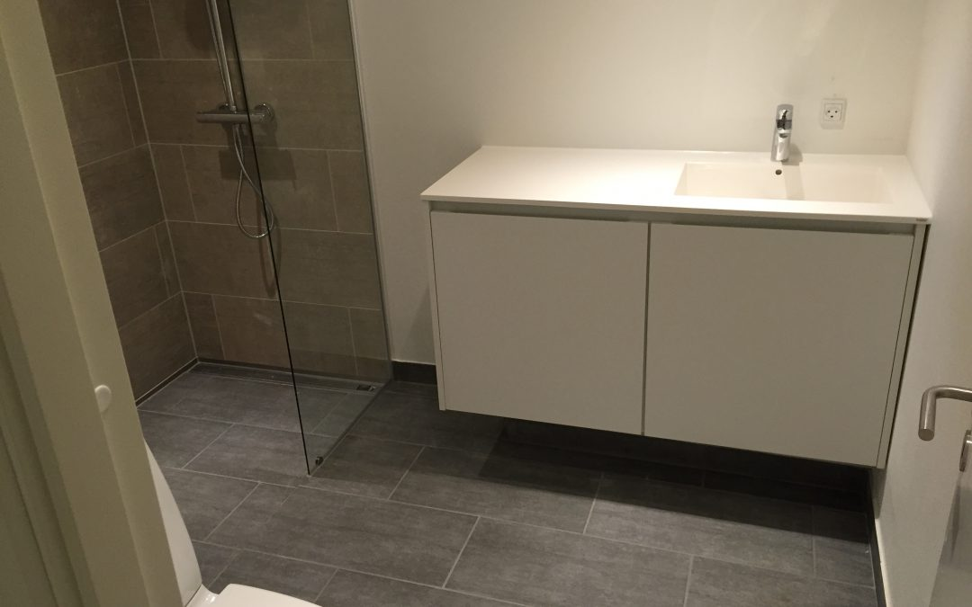Nyt badeværelse i total renoveret hus