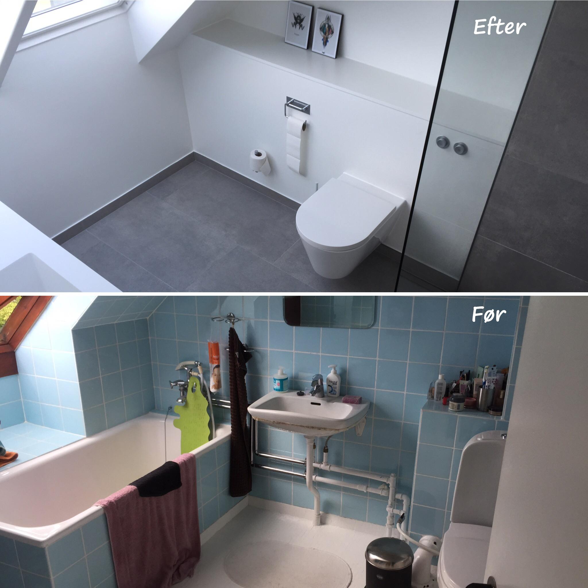 billig renovering af badeværelse